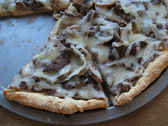 Steak Pizza