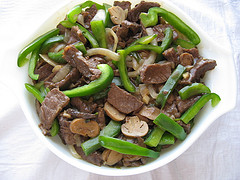 Chinese Pepper Steak