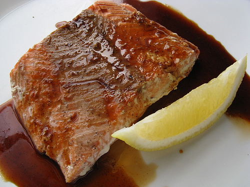 Grilled salmon recipes from