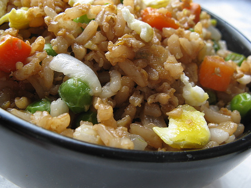 Chinese Fried RICE If you enjoy Chinese food it's almost a sure thing you