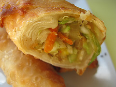 Easy cabbage egg roll recipe