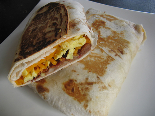 Breakfast Burritos Recipe | BlogChef.net
