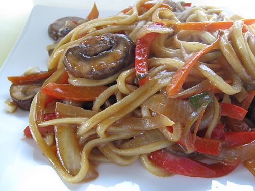 Free Online Recipes: Vegetable Lo Mein