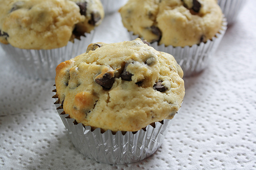 Chocolate Chip Muffins Recipe | BlogChef.net