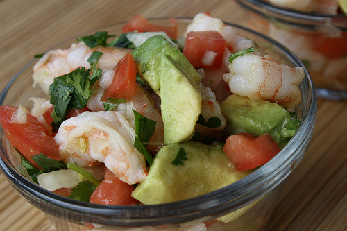 Low-Fat Summer Seafood Salad Recipe from CDKitchen.com
