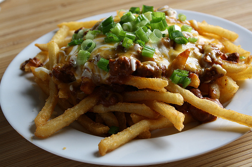 Chili Cheese Fries Recipe | BlogChef.net