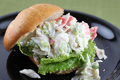 Crab Salad Sandwich Related Keywords & Suggestions - Crab Salad ...