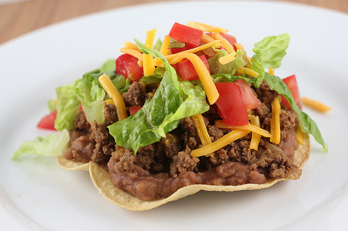 Beef Tostadas Recipe | BlogChef.net