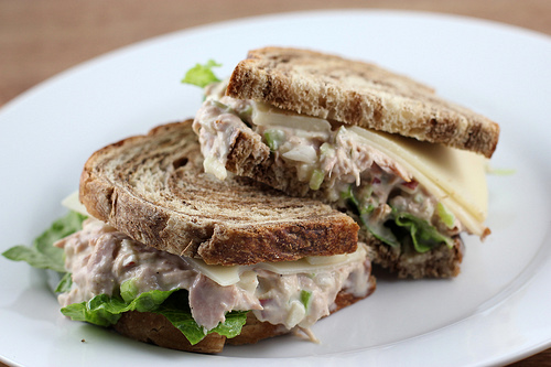 Tuna Salad Sandwich Recipe | BlogChef.net