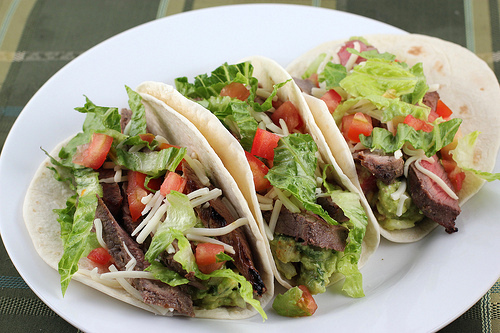 Grilled Steak Tacos Recipe | BlogChef.net
