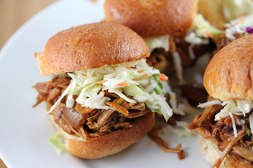 Pulled Pork Sliders Recipe | BlogChef.net