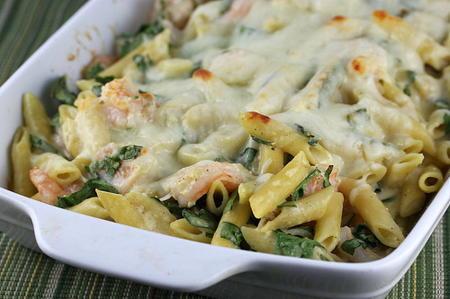 ... spinach basil pesto pasta and shrimp garlicky shrimp and spinach bake