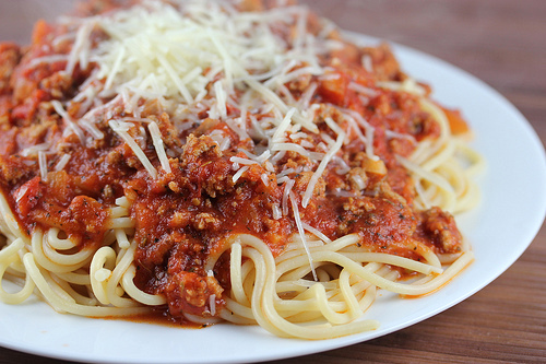 Spaghetti Sauce With Ground Beef Recipe — Dishmaps