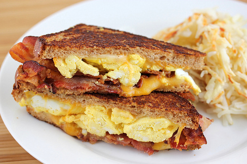 Breakfast Grilled Cheese Recipe | Cooking and Recipes