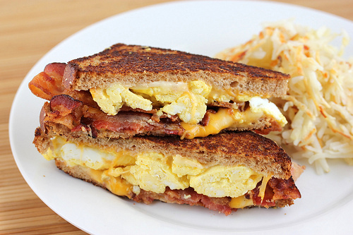Breakfast Grilled Cheese Recipe | BlogChef.net