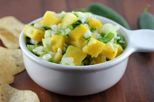 Cucumber-Mango Salsa Recipe | BlogChef.net