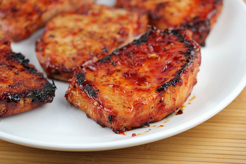 Quick recipe for boneless pork chops