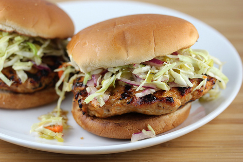 BBQ Chicken Burgers Recipe | BlogChef.net