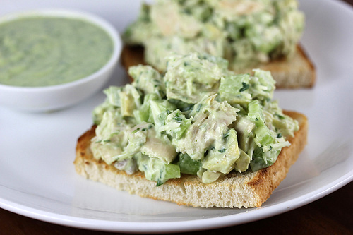 ingredients avocado dressing 2 avocados peeled pitting and sliced 1