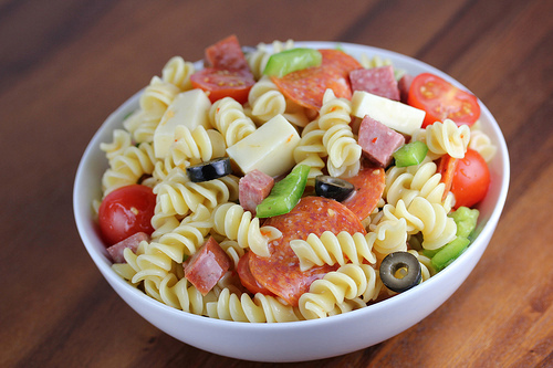 Pepperoni cheese pasta salad recipes