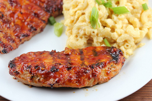Barbecue pork steak recipe