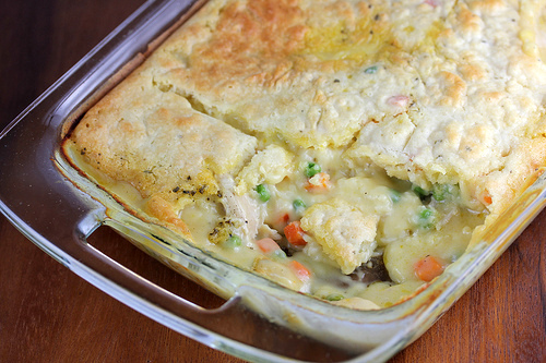 Chicken Pot Pie Bake Recipe at Tastes Nice
