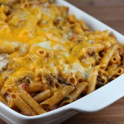 Chili Con Queso Pasta Bake
