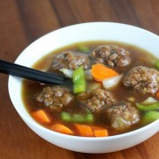 Chinese beef ball