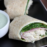 ranch chicken wraps