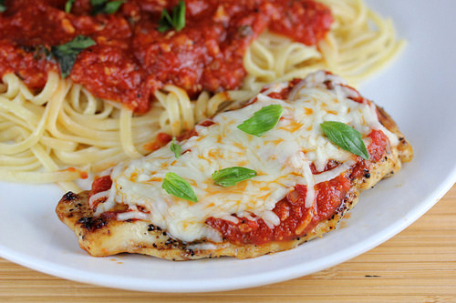 Grilled chicken parmesan recipe blogchef grilled chicken parmesan recipe forumfinder Choice Image