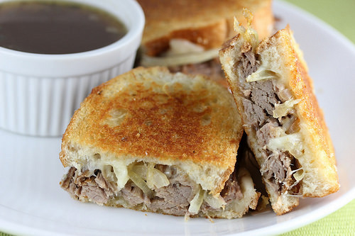 Pot Roast Grilled Cheese