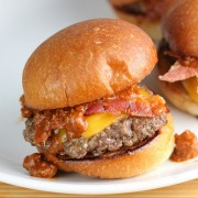 Chili Cheese Sliders