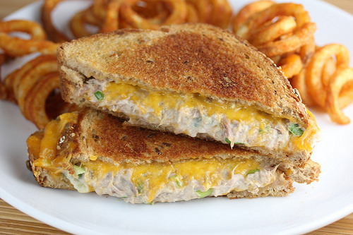 tuna grilled cheese