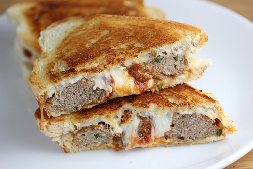 meatball grilled cheese today was the last day of meatball grilled ...