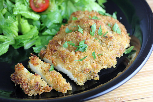 Panko Crusted Chicken Recipe | Cooking and Recipes