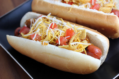Tex-Mex Chili Dogs