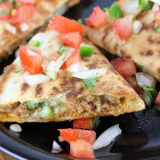 Chorizo Quesadillas