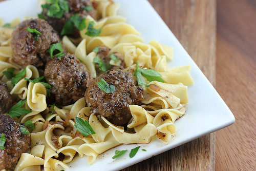 French Style Meatballs