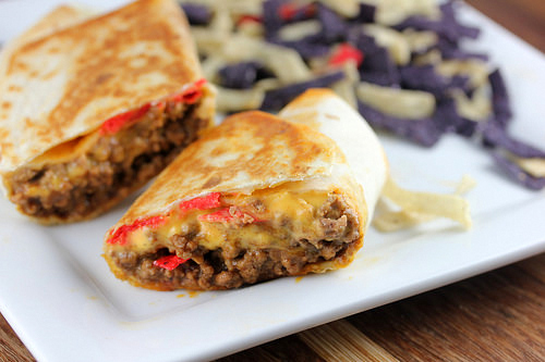 Taco Bell Beefy Nacho Griller Recipe