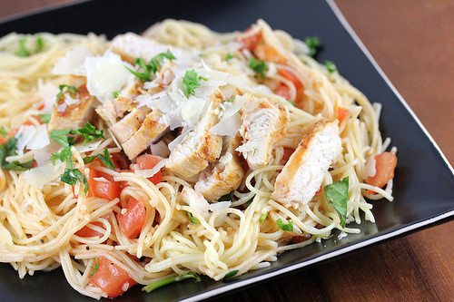 TGI Friday's Bruschetta Chicken Pasta