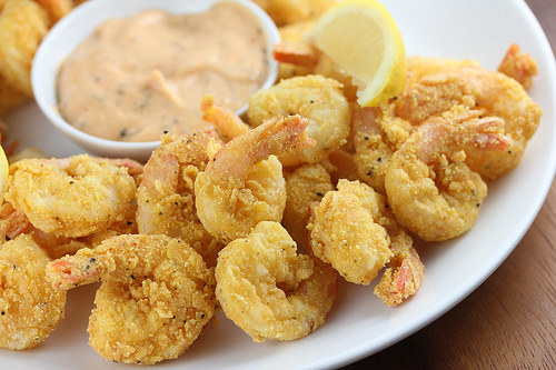 Creole Fried Shrimp