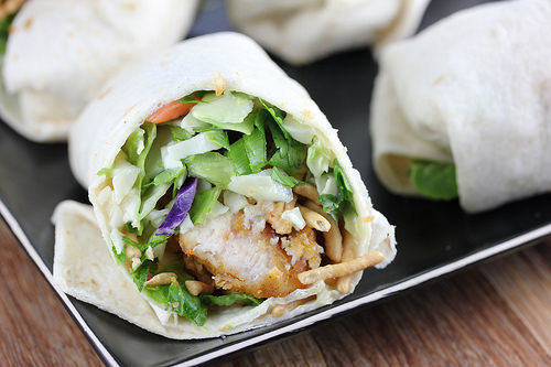 Applebee's Oriental Chicken Roll up