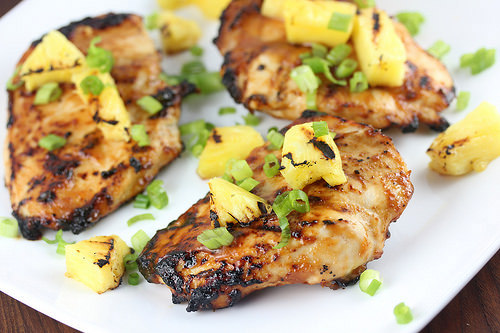 Pineapple Grilled Chicken