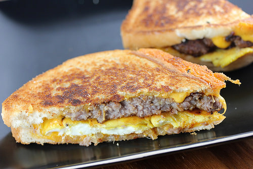 Breakfast Patty Melt Recipe