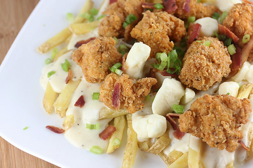 Fried Chicken Poutine