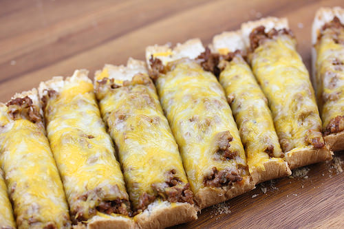 Sloppy Joe French Bread Pizza Recipe