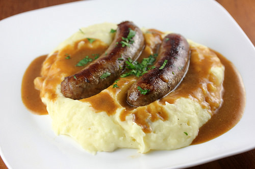 Bangers and Mash Recipe | Cooking and Recipes