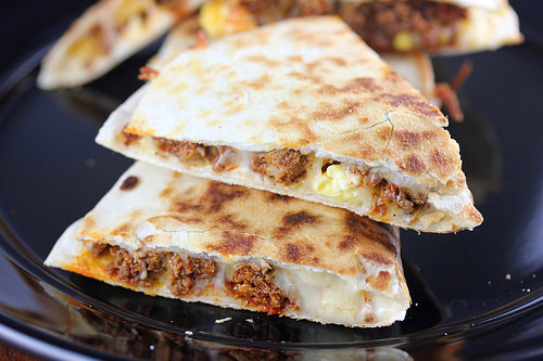 Mexican Breakfast Quesadillas Recipe