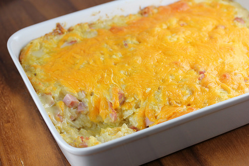 Ham and Hash Brown Casserole Recipe