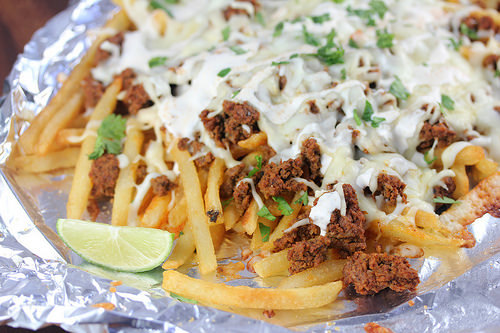 Chorizo Fries